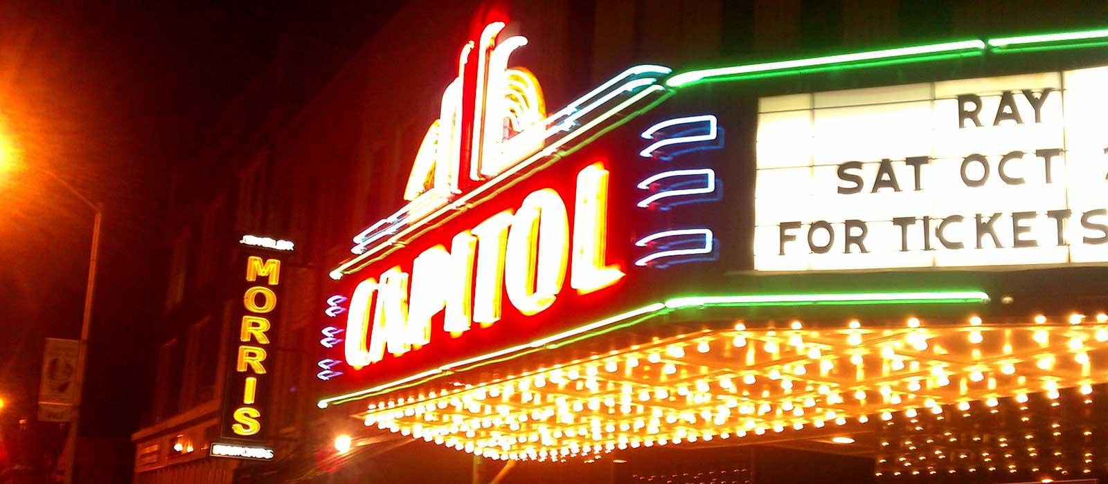 Capitol Arts Center Neon Restoration