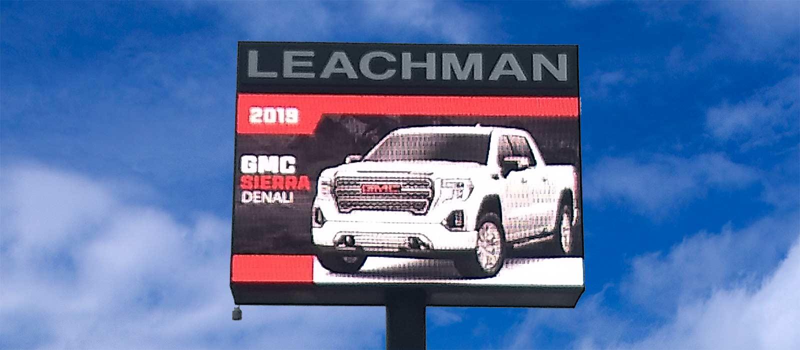 Leachman LED Signage