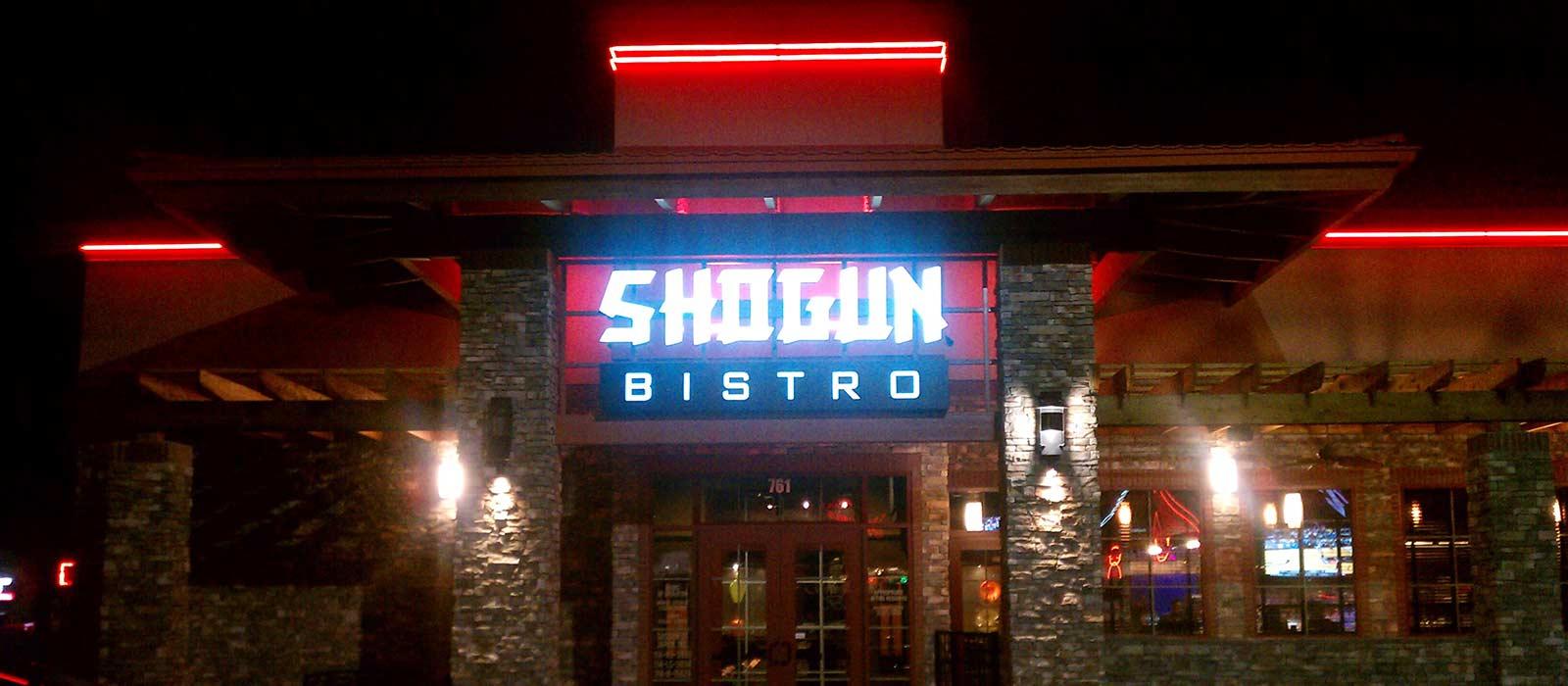 Shogun Bistro Neon Installation