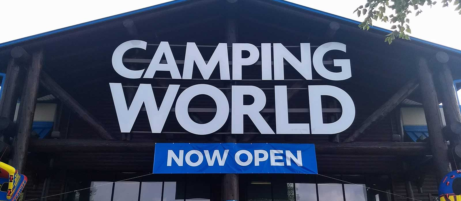Camping World National Signage Channel Letters