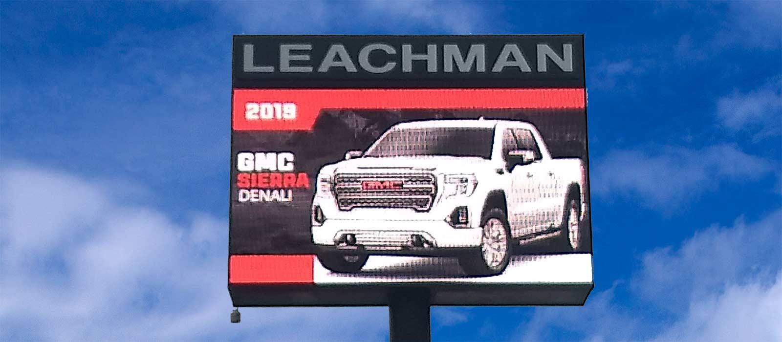 Leachman LED Message Board