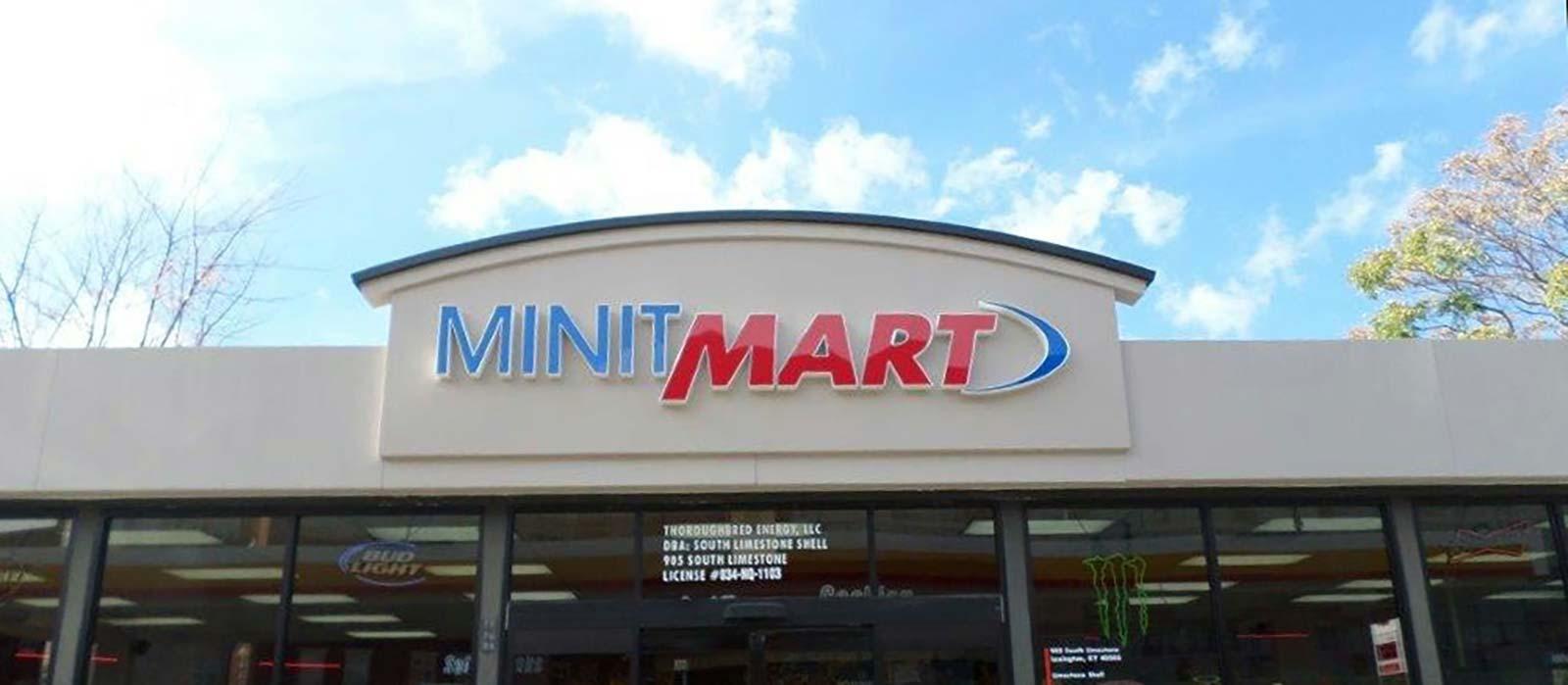 Minit Mart Channel Letters